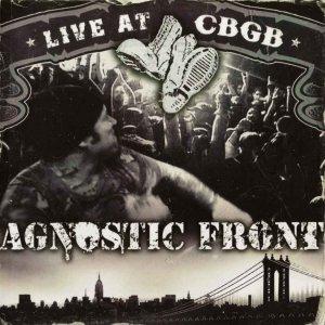 Agnostic Front – Live At CBGB CD