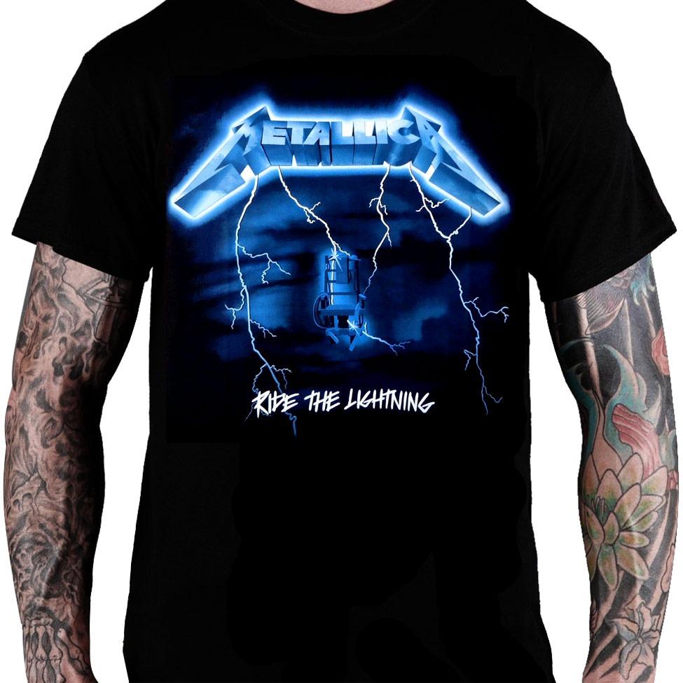65cf690db02b6 Camiseta Metallica – Heavy Metal Rock