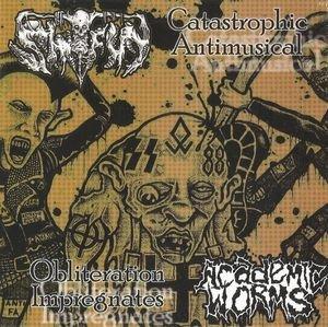ShitFun / Academic Worms – Obliteration Impregnates / Catastrophic Antimusical CD
