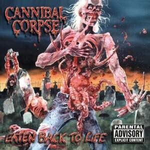 Cannibal Corpse – Eaten Back to Life CD