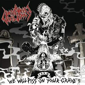 Antichrist Hooligans – We Will Piss On Your Grave CD