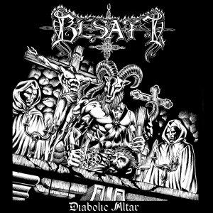 Besatt – Diabolic Altar CD