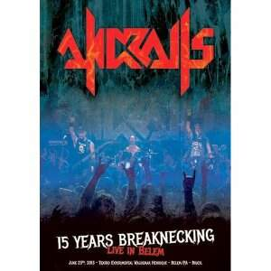 Andralls  – 15 Years Breaknecking: Live in Belem/PA DVD