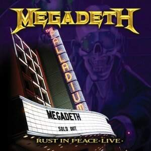 Megadeth – Rust In Peace – Live CD