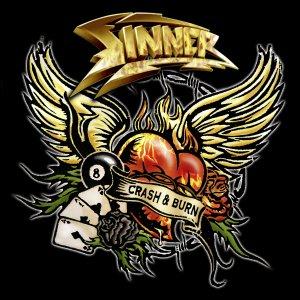 Sinner – Crash & Burn CD