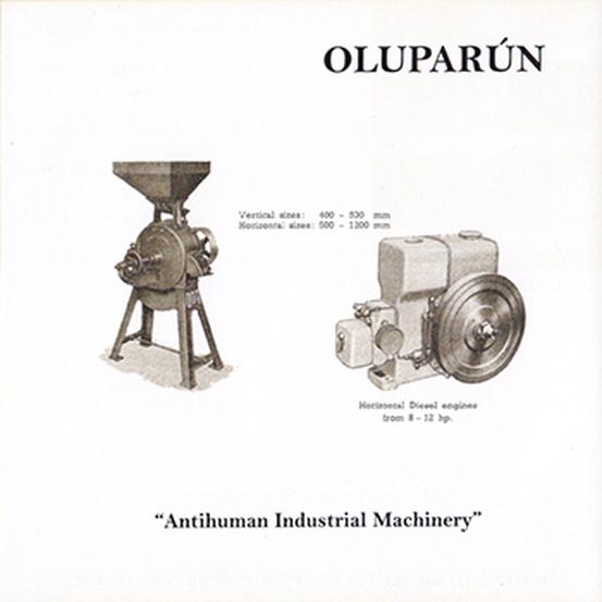 Oluparún - Piel De Cadaver Split CD