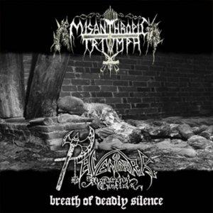 Misanthropic Triumph / Ravendark's Monarchal Canticle – Breath Of Deadly Silence CD