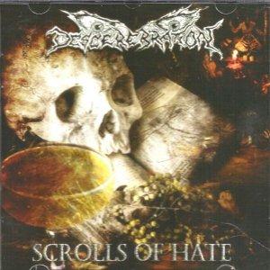 Descerebration – Scrolls Of Hate CD