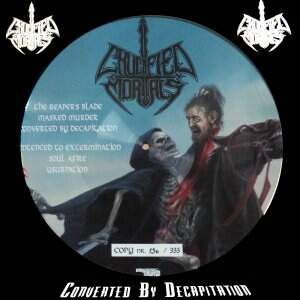 Crucified Mortals – Converted by Decapitation LP