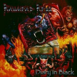Rawhead Rexx – Diary In Black CD