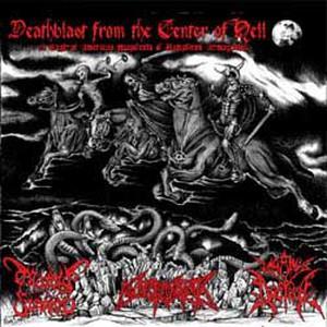 Necrolisis / Morbid Funeral / Paganus Doctrina – Deathblast From The Center Of Hell CD