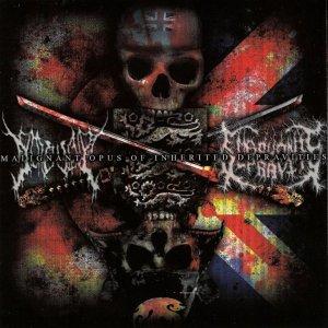 Embryonic Depravity / Gorevent – Malignant Opus Of Inherited Depravities CD