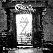 Chasma – Declarations Of The Grand Artificer CD