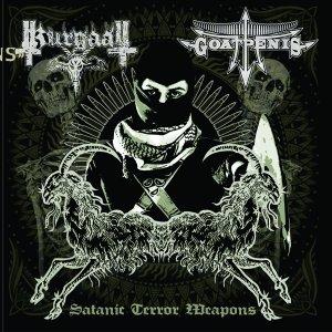 Goatpenis / Kurgaall – Satanic Terror Weapons CD