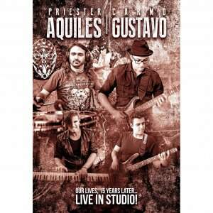Aquiles Priester / Gustavo Carmo – Our Lives, 15 Years Later… Live In Studio! DVD