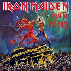 Iron Maiden – Run To The Hills LP
