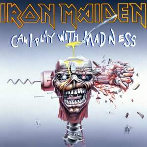 Iron Maiden – Can I Play With Madness LP