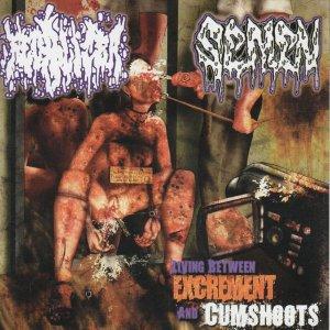 Fecalizer / Semen – Living Between Excrement And Cumshoots CD