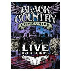 Black Country Communion – Live Over Europe DVD