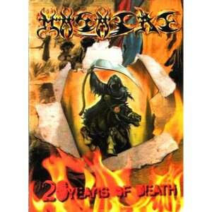 Masacre – 20 Years Of Death DVD