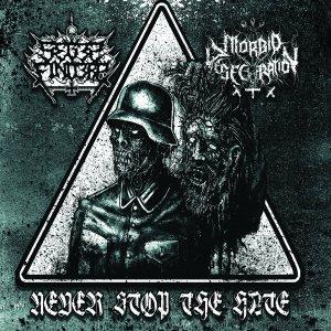 Seges Findere / Morbid Desecration – Never Stop The Hate CD