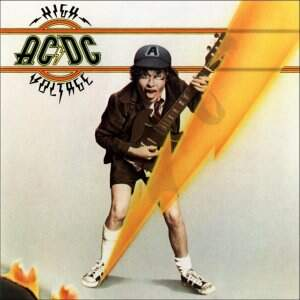 AC/DC ‎– High Voltage LP