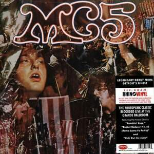 MC5 – Kick Out The Jams LP