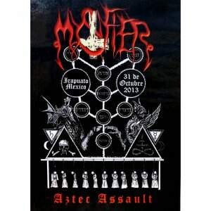 Mystifier ‎– Aztec Assault DVD