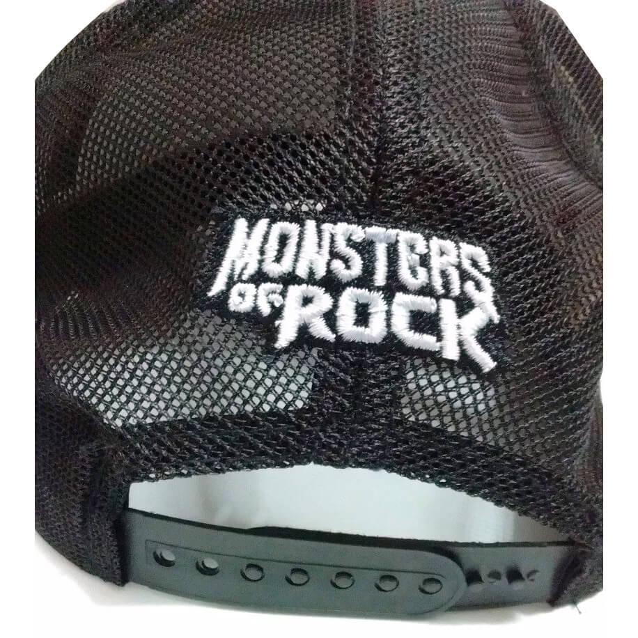 Boné Trucker Monsters of Rock – Heavy Metal Rock baa4a87b21a