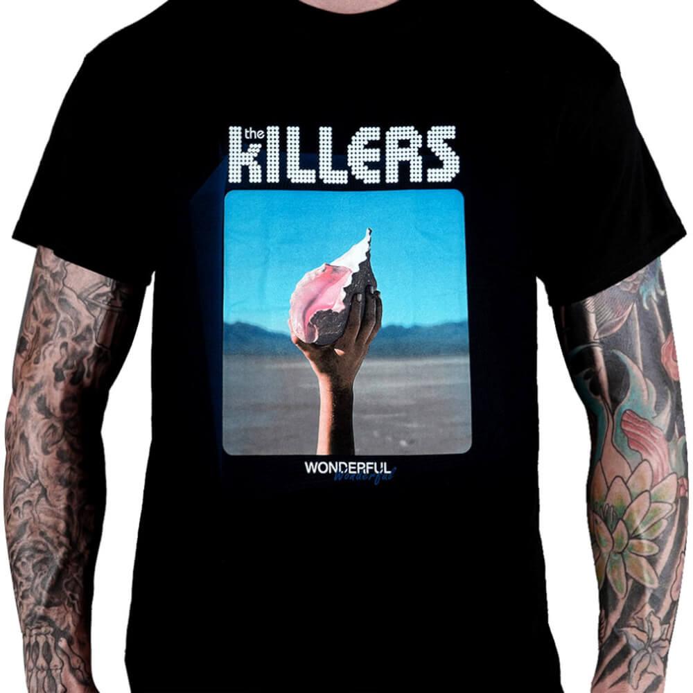 e5a9cab38c56e Camiseta The Killers – Heavy Metal Rock